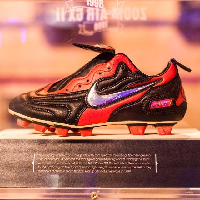 football boots red nike tennis shoes