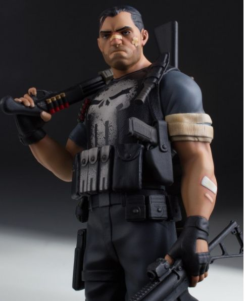 BLOG DOS BRINQUEDOS: Punisher Collectors Gallery Statue