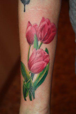 tulip tattoos | flower, tattoos, tulips, sexy, female, design, ideas | Inspirational ...