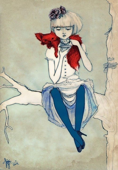 'My cup of tea' illustration.