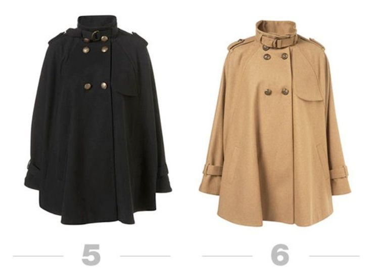 Продолжение. Шьем самое модное в этом сезоне пальто… кейп, пончо или просто накидку! Идеи для вдохновения!