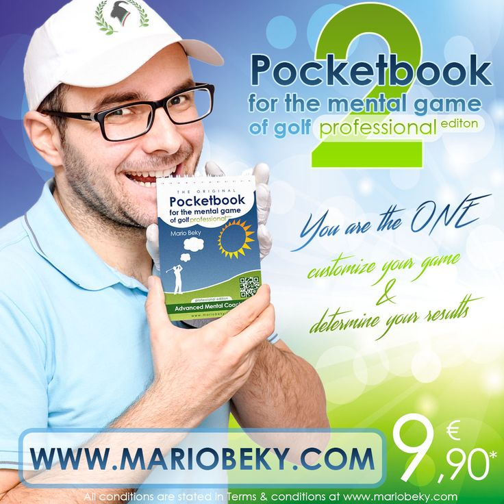 It's super simple to use and it's fitted for your pocket! Feel free to explore more at -www.mariobeky.com #GOLF #pocketbook #mentalcoaching #mentalgolf #golfer #golfing #winner #relaxing #book #better #best #usa #usveterans #veteransgolf #improvement #orlando #psychology #professional #Advanced #sports #swing #golfsport #canada #control #management #mind