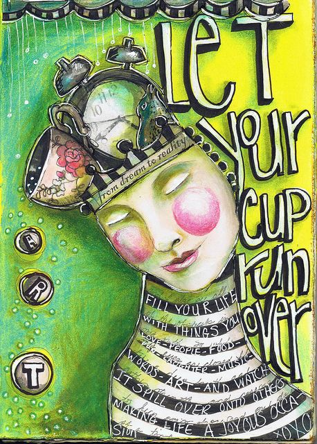 Let Your Cup Run Over by Pam Carriker: