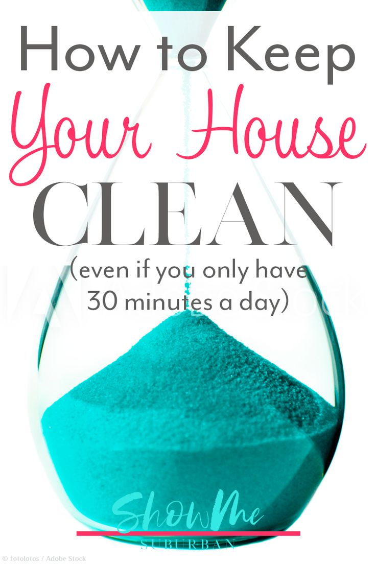 I was having trouble keeping your house clean.  I found this daily, weekly, and …