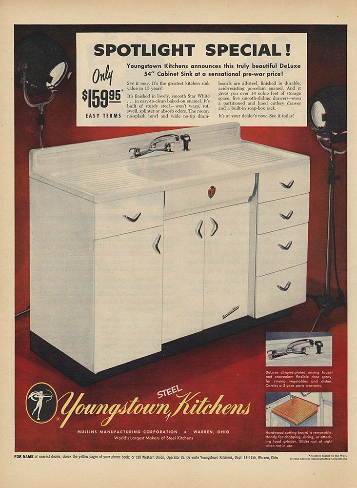 517 Best Images About Retro Kitchens 2 On Pinterest