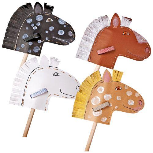 Pappe-Pferdchen JAKO-O - Steckenpferd- Wettgaloppieren ♥ sorgfältig ausgewählt ♥ Jetzt online bestellen!