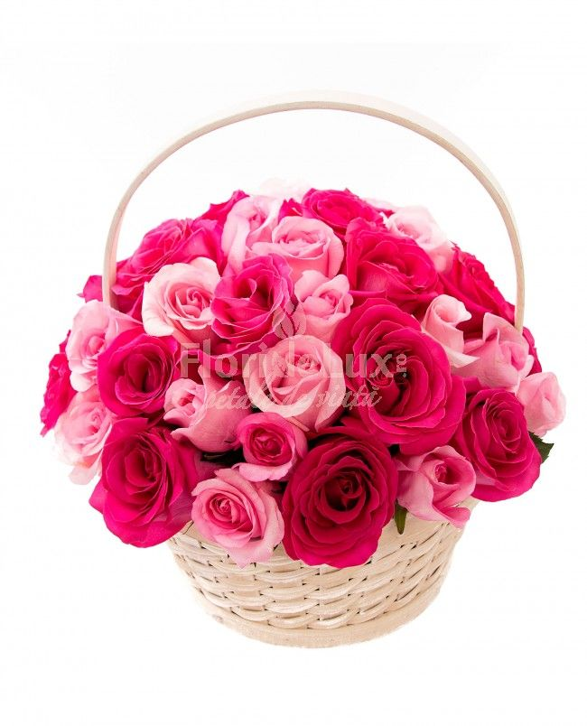 Trandafiri delicati si proaspeti in nunate feminine! 49 trandafiri speciali pentru ea!