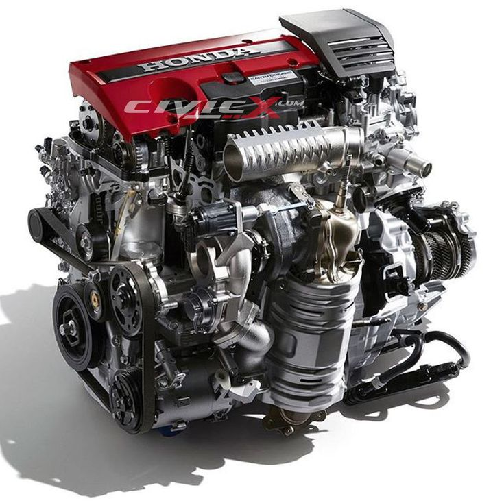 What Can You Tell About The 2017 Honda Civic Type-R Engine By Looking At It?