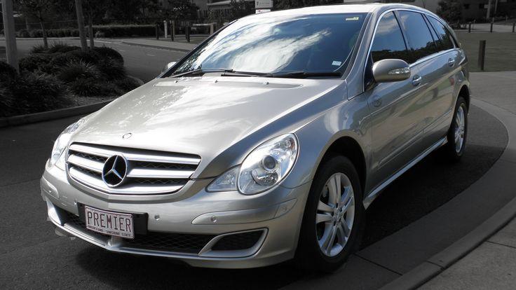 Mercedes R500 Corporate Car, Seats 5 passengers in comfort. #CorporateCarsBrisbane #LimousinesBrisbane #AirportTransfersBrisbane