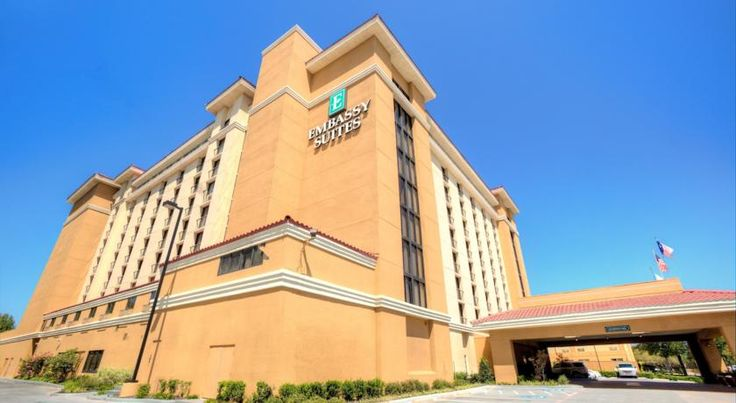 Embassy Suites Dallas - Park Central Area Dallas Conveniently located near a variety of attractions in Dallas, Texas, this all-suite hotel offers convenient local area transport as well as delicious on-site dining  choices available throughout the day.