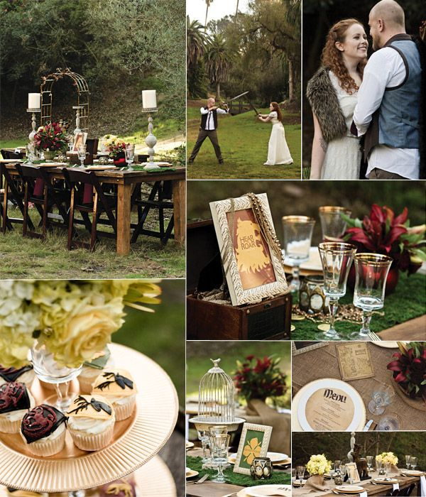 Fantasy Wedding Themes – Game Of Thrones