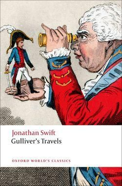 Gullivers-Travels-purports-to-be-a-travel-book-and-describes-the-shipwrecked-Gullivers-encounters-with-the-inhabitants-of-four-extraordinary-places-Lilliput-Brobdingnag-Laputa-and-the-country-of-the-Houyhnhnms-A-consumately-skilful-blend-of-fantasy-and-realism-makes-Gullivers-Travels-by-turns-hilarious-frightening-and-profound-This-new-edition-includes-the-changing-frontispiece-portraits-of-Gulliver-that-appeared-in-successive-early-editions