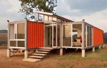 40-Foot Cargo Containers into Stylish Small-Home Spaces   Designs & Ideas on Dornob