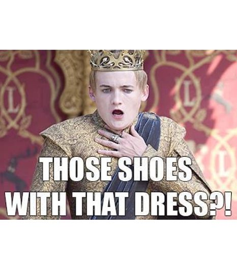 Oh, Joffrey. It's hard looking that great all the time, isn't it?