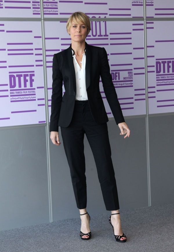Claire Underwood Gives The Power Suit A Makeover - Forbes