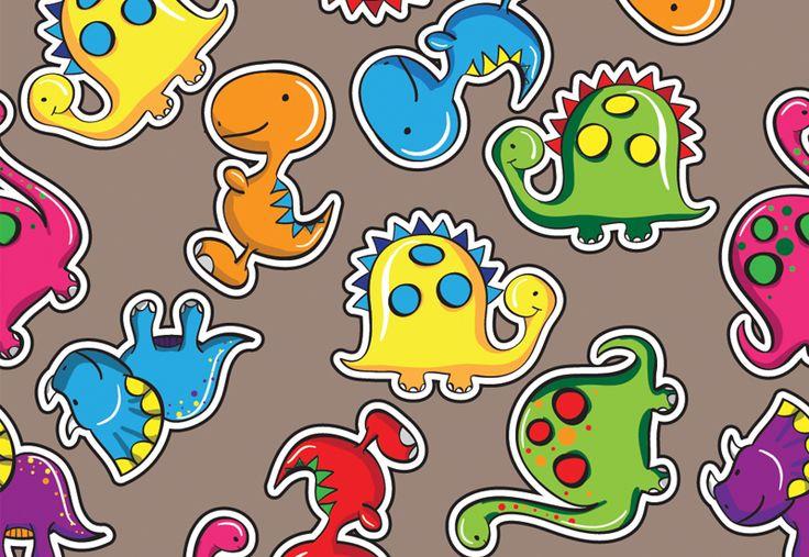 Dinosaur Wallpaper So Cute Kids Dinosaur Birthday