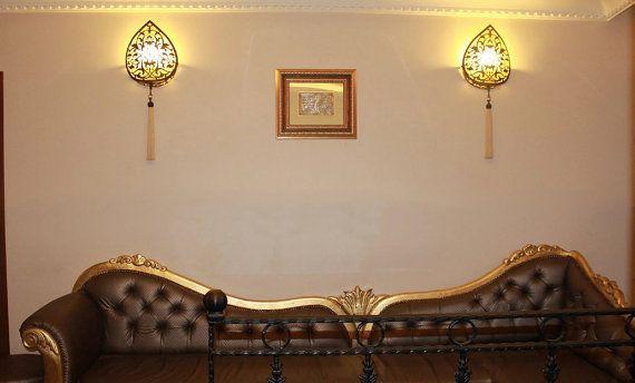 ON SALE Wall lamp Handmade ottoman style light by BeautyofTurkey