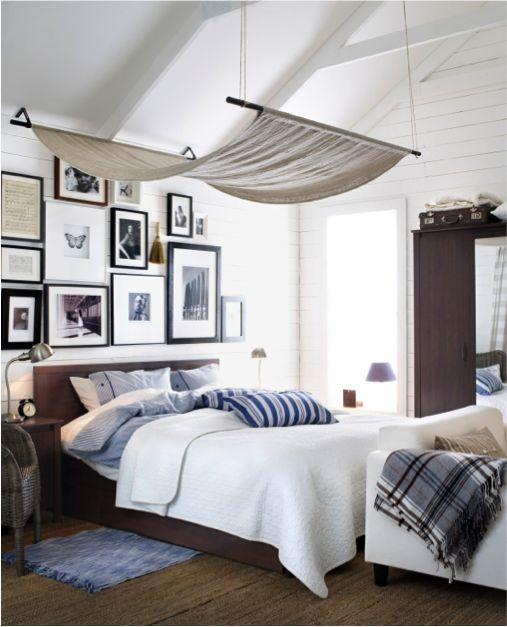 brusali bed frame brown - Brusali Bed Frame Review