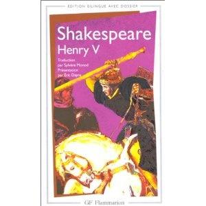 Shakespeare, Henry V... La tirade de la Saint-Crépin a un souffle inégalé. Et que dire de cette pièce qui parle de la guerre, finit sur un mariage de raison, et mélange les genres afin de déplorer, peut-être, l'absurdité des morts ?