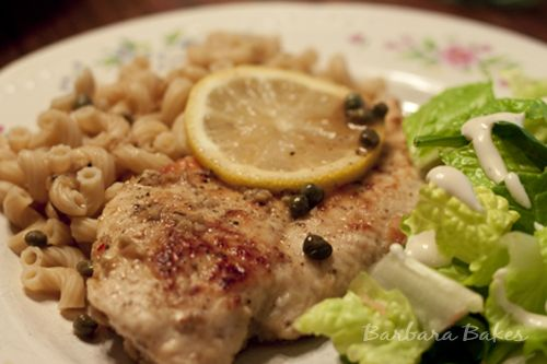 Can't wait to cook with dry white wine! Quick and Easy Chicken Piccata