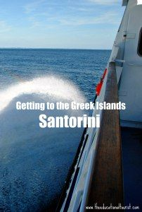 TIPS for Greek Island Ferries - Visit Santorini, Thira, Greece