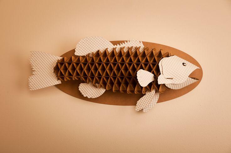 Me: Cardboard Animal Trophies