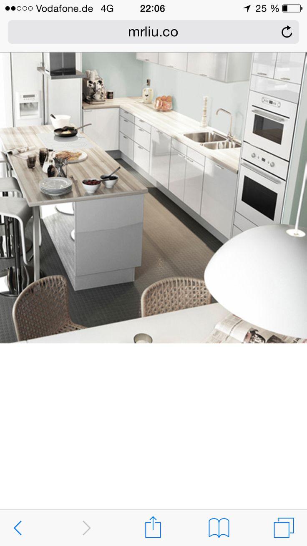 Pin von Suzanne Mulcahy auf Kitchen | Küchendesign modern ...