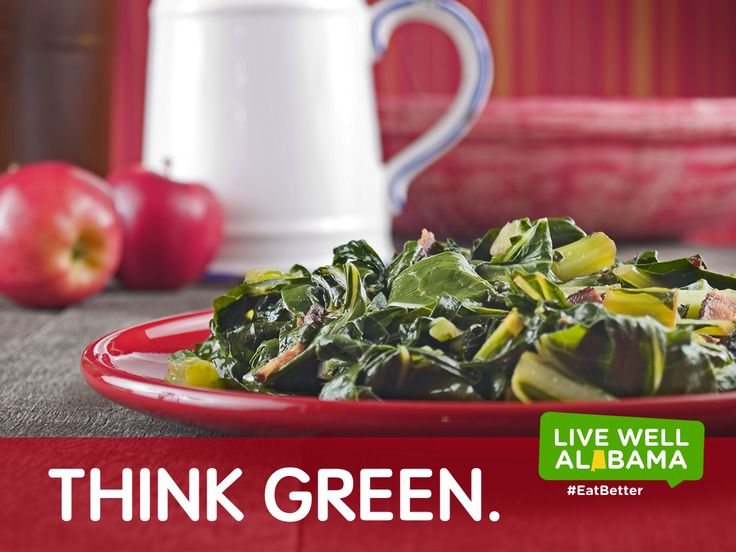 Think green. Make eating more veggies your goal. View the USDA's recipe for healthy greens: https://whatscooking.fns.usda.gov/recipes/supplemental-nutrition-assistance-program-snap/seared-greens