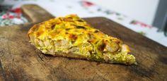 Una manera irresistible de comer espinacas: en una quiche con champiñones
