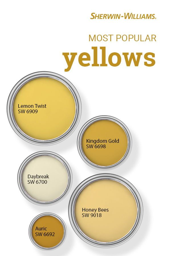 Pin On Yellow Paint Color Inspiration