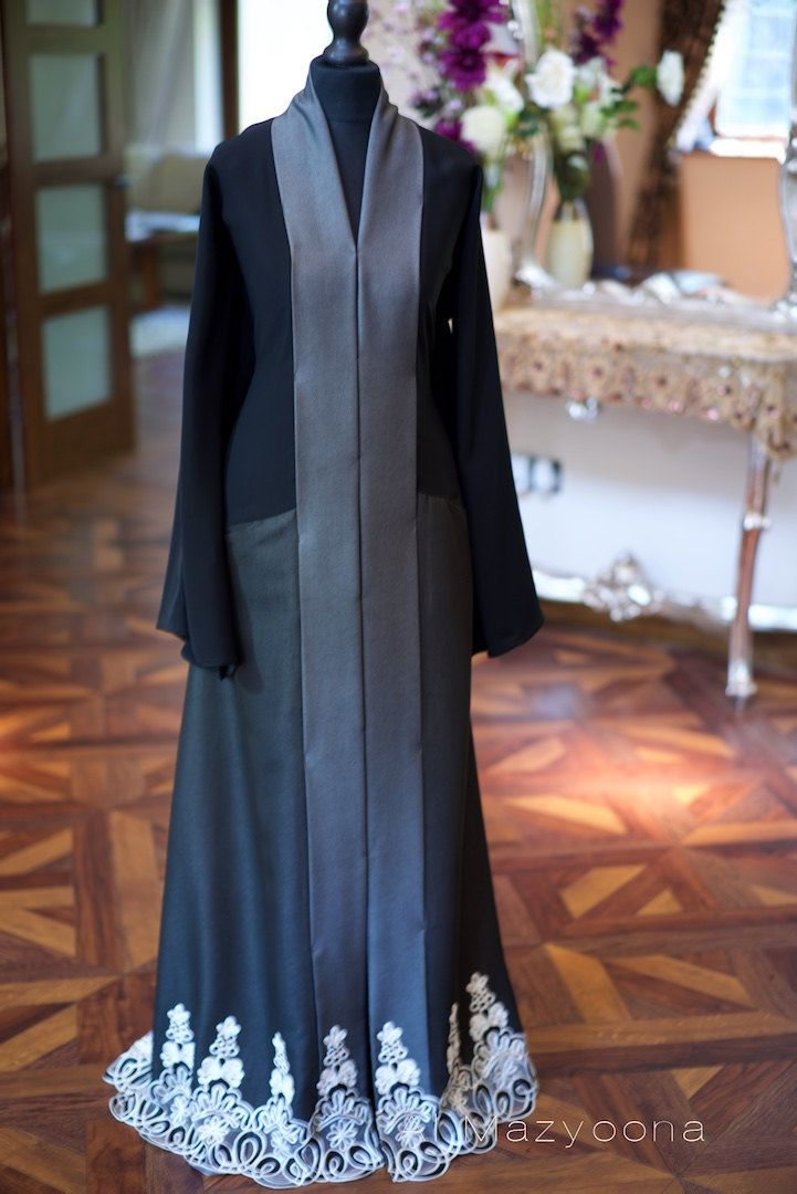 14 DAY PROMOTIONAL SALE Al Mazyoona Black Floral Draped Abaya Dubai Arabic Jalabiya Khaleeji Kaftan Maxi by Almazyoona on Etsy https://www.etsy.com/listing/267683558/14-day-promotional-sale-al-mazyoona