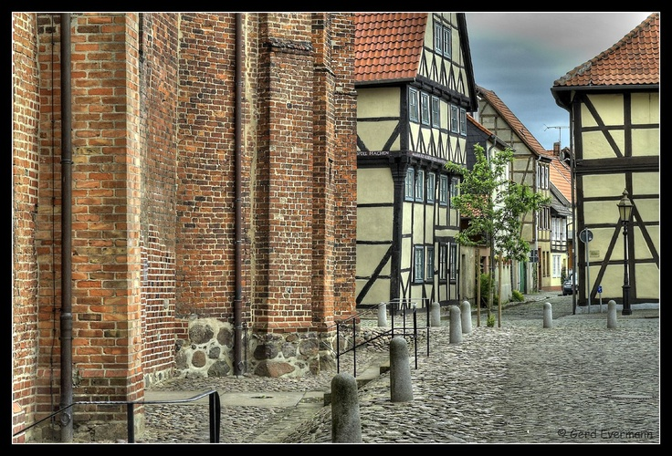 Salzwedel, Germany.  Spent a month here in 2001. It was still a place in transition. Many folks had never met a westerner. A beautiful city with numerous medieval structures.