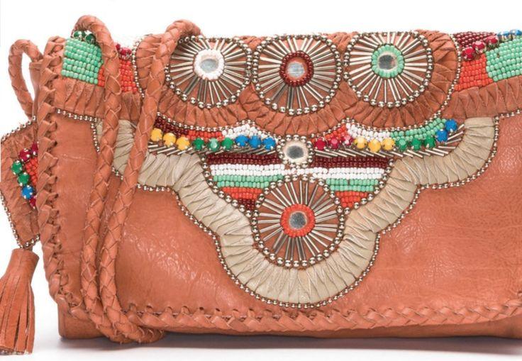 Boho Beaded Festival Bag