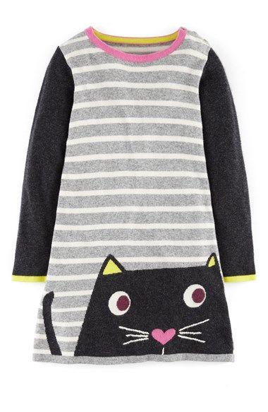 Mini Boden 'Fun' Knit Dress (Toddler Girls, Little Girls & Big Girls) available at #Nordstrom