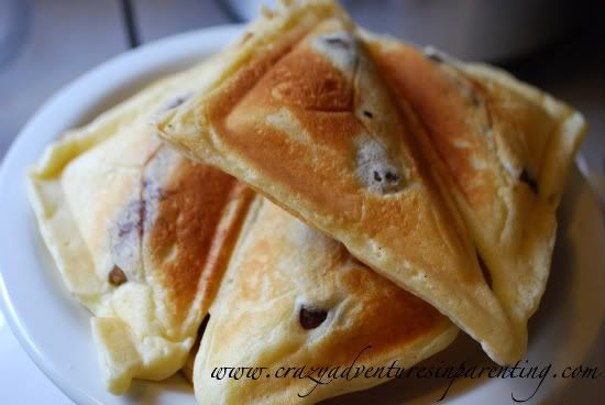 Easy Sausage Pancake Sandwiches- Quick and Easy!!!