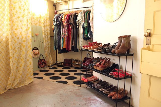 Basement Boutique Closet #makeover