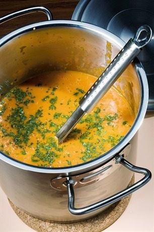 «Крем-суп из сладкого перца и помидоров» рецепт – испанская кухня: супы. «Афиша-Еда»