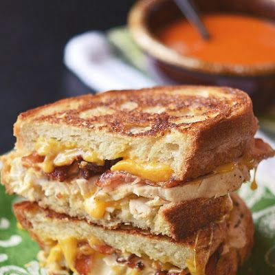 This is SO yummy! Chicken Bacon Ranch Grilled Cheese Recipe - Key