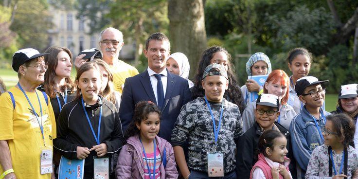 Ces enfants ne reconnaissent pas Manuel Valls