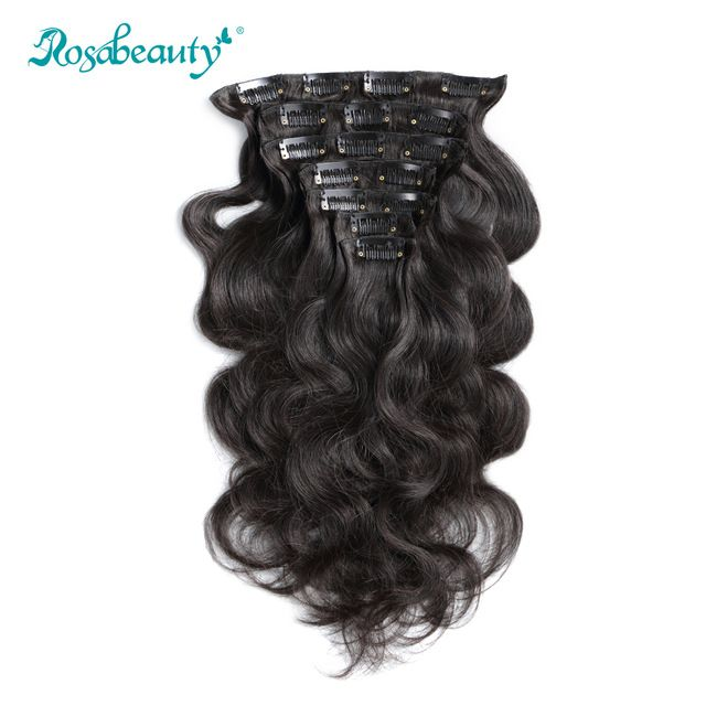 100G Clip In Hair Extensions body wave ★ Quality product and excellent customer service.★ Ships to more than 200 countries and regions, such as USA, UK, AUSTRALIA.