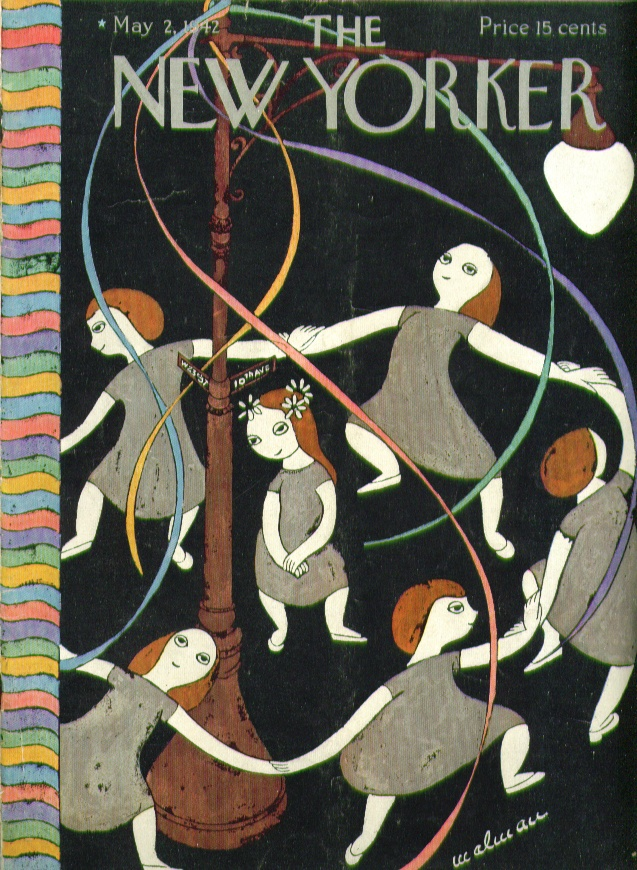 day 11 ... 10 july 12 [Maypole cover 1942}