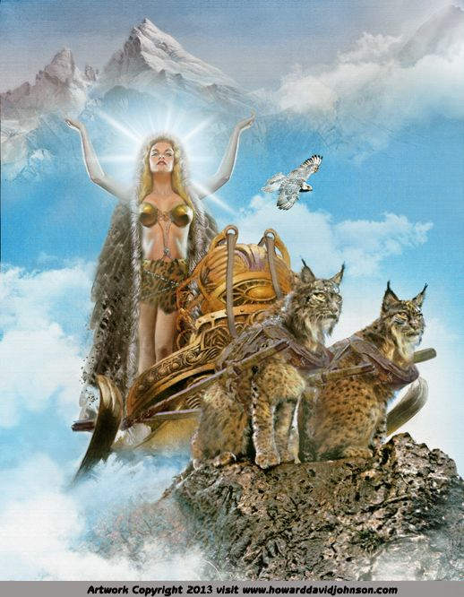 Norse Myths and Legends: Illustrations of Norse Mythology; Mythic Norse Art by Contemporary American Artist Howard David Johnson