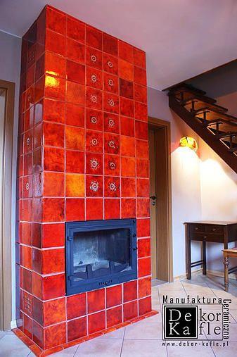 Handmade Ceramic Fireplace Tiles from DeKa Tiles Studio