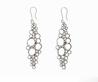 Secret Life of Jewelry - A Universe of Handcrafted Art to Wear: Sterling Silver Lace - Anna Atterling Jewelry
