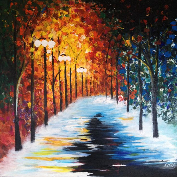 acrylic painting - rmeh