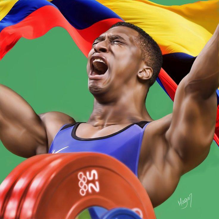 Óscar Albeiro Figueroa Mosquera es el décimo tercer medallista olímpico en la historia de Colombia el cuarto en ganar una medalla de plata y el tercero en ganar una medalla de oro.  Es el cuarto halterófilo colombiano en ganar una medalla en los Juegos Olímpicos y el único en lograr batir un récord olímpico. Es el primer halterófilo colombiano en ser campeón mundial juvenil y el único en ser medallista en un campeonato mundial juvenil y de mayores lo hizo en 2001 y 2006 respectivamente…