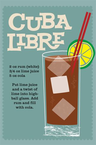 I probably would never drink this, but I'm Cuban and I like the name! Great casual font and overall style. Very summery.//