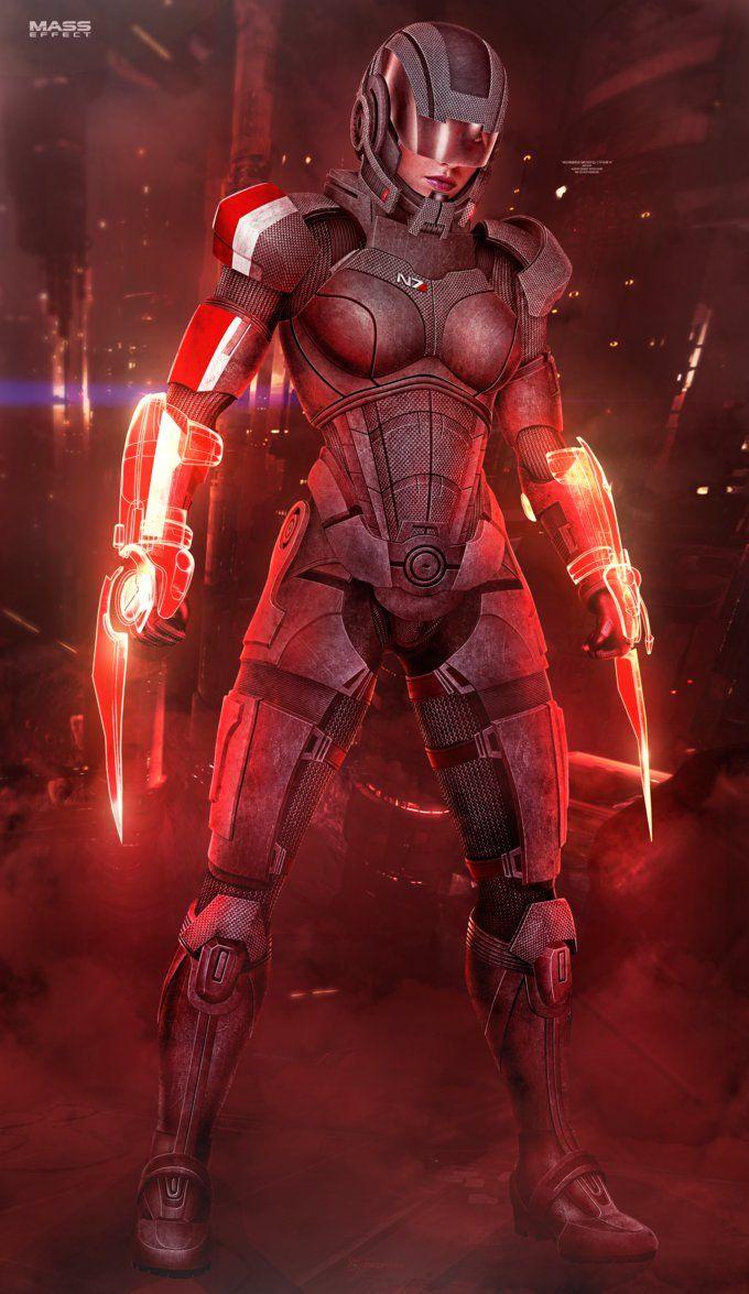 FemShep Sentinel II - Mass Effect (2016) by RedLineR91.deviantart.com on @DeviantArt