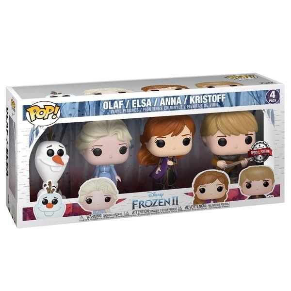 Superb Pop Vinyl Disney Frozen 2 Special Edition 4 Pack Now At Smyths Toys Uk Shop For Funko Pop Vinyl At Gre Funko Pop Dolls Funko Pop Disney Pop Figurine