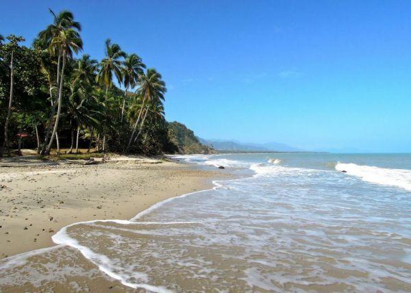 Colombia - Playa de Palomino, La Guajira.